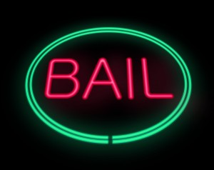 Bail Sign.